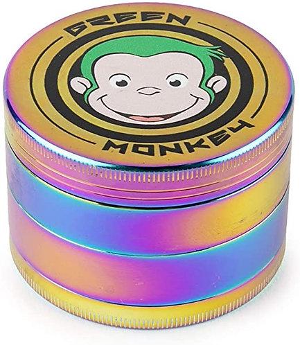 Green Monkey Grinder - Capuchin - 75mm - Rainbow