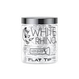 White Rhino Glass Tips – Flat