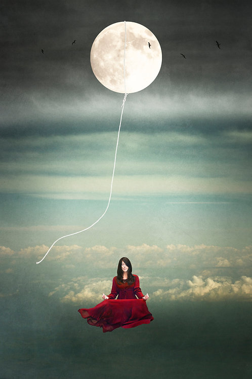 Tied to the Moon Crone