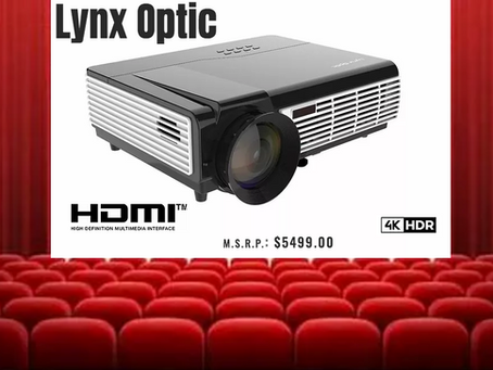 Lynx Optics Creates the Home Theater of our dreams.