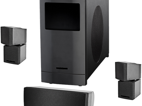 The Solaris Audio Surround Sound Speaker System