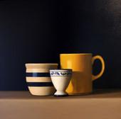 Yellow Mug, egg cup, bowl 20 x 20.jpg
