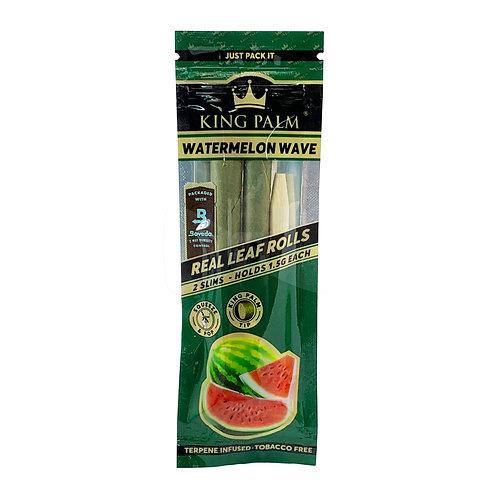 King Palm Leaf Rolls 2 pk - Mini Size - Watermelon Wave