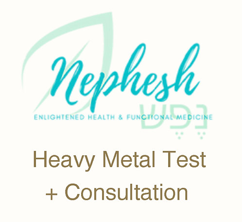 Heavy Metal Test + Consultation