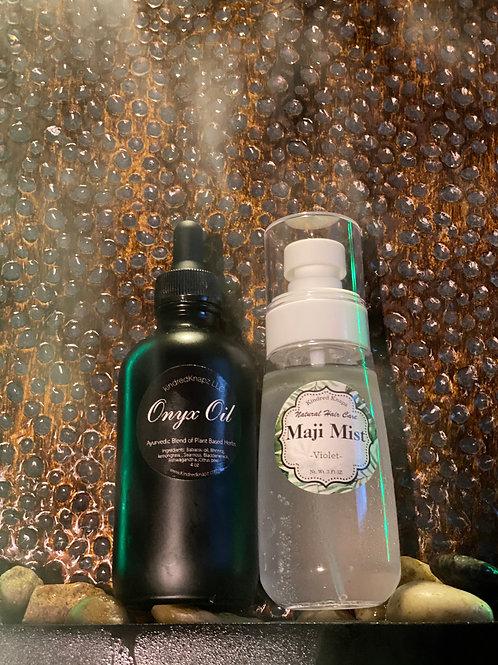 Onyx Oil - 4 fluid oz & Maji Mist 3.4 oz - Pack