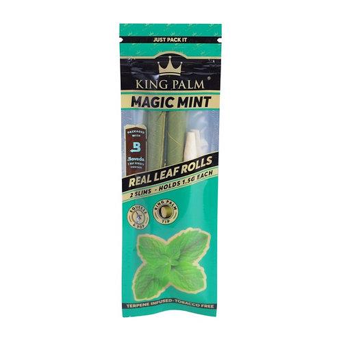 King Palm Leaf Rolls 2 pk Mini Size - Magic Mint