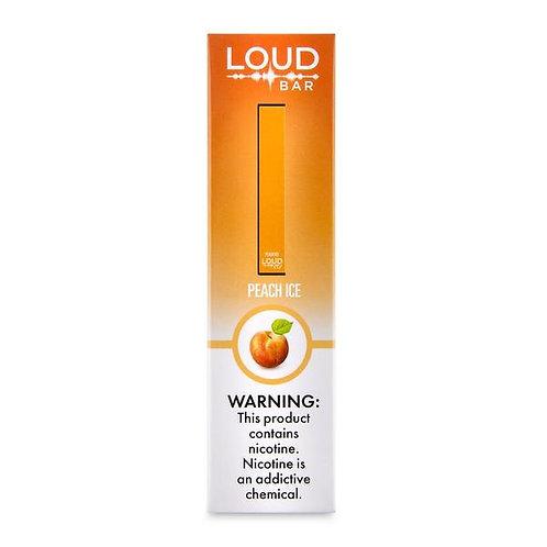 Loud Bar Disposable Vape Device - Peach Ice