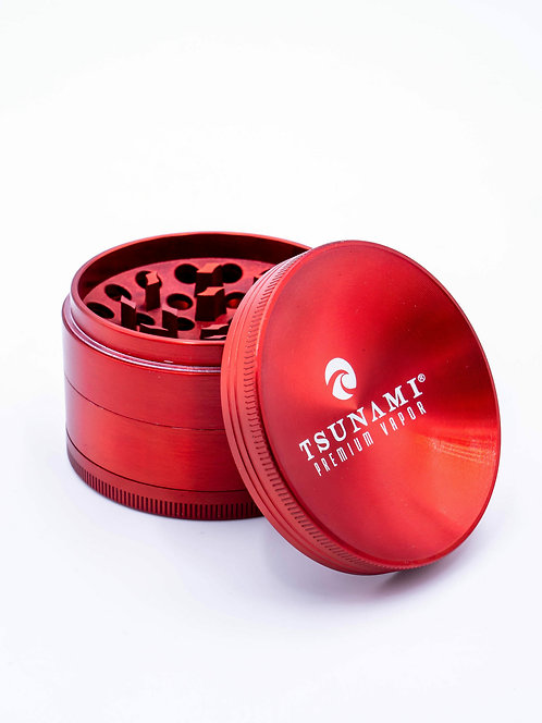 Tsunami Grinder 63MM / Red