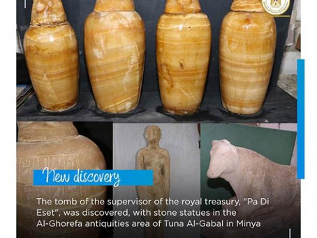 Egyptian Pharaonic Tomb Of Elite Family And Countless Artifacts Found!