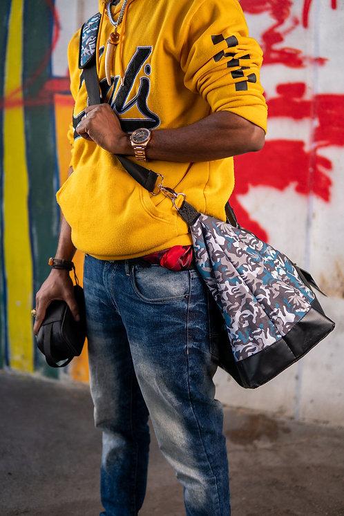 Skunk Weekender Bag - Blue Camo