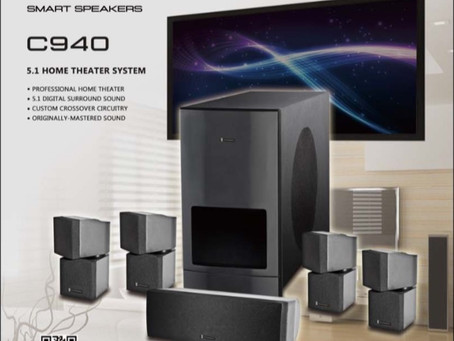 Oxfordmedia C940  5.1 Home Theater System. One of the Greats!