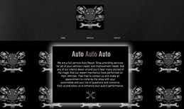 Auto Repair Website This site belonged to a full service Auto Repair S...