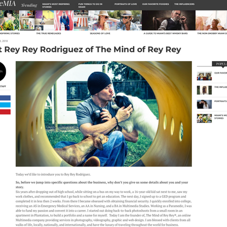VoyageMIA: Meet Rey Rey Rodriguez of The Mind of Rey Rey