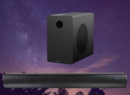 The Belcann Wireless Soundbar brings the concert to you.
