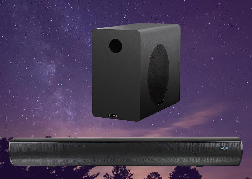 An image of the Belcann Wireless Soundbar