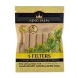 King Palm 5 pk Corn Husk Filters