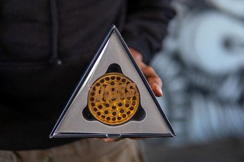 Vibes x Aerospaced Aluminum Grinder - 63mm - Gold