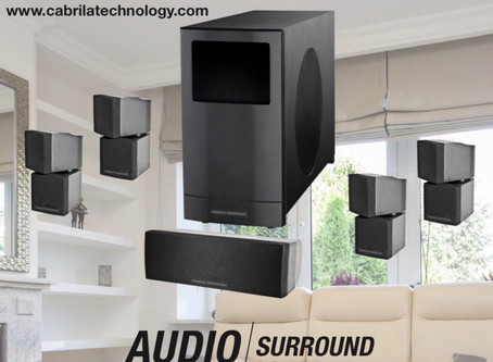 The Cabrila Technology 5.1 Home Theater System. Finally, true Audio Power!