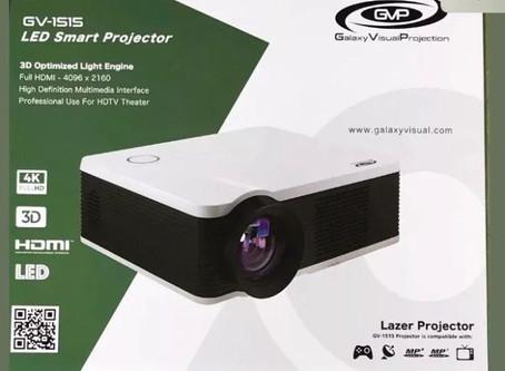 Galaxy Visual GV1515 HD Projector
