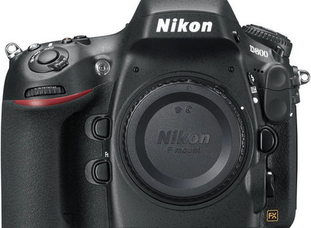 The Legendary Nikon D800 DSLR Camera is still used by the best.
