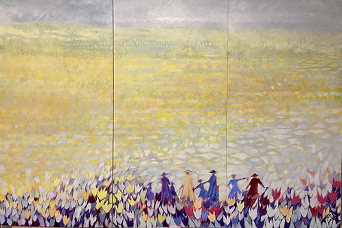 Dreaming of Provence (triptych)