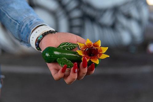 """Hand Pipe - 5"""" - Sunflower"""