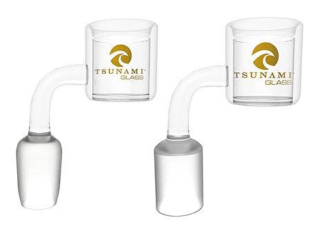 Tsunami Quartz Thermal Banger w/ Carb Cap - 10MM - Female