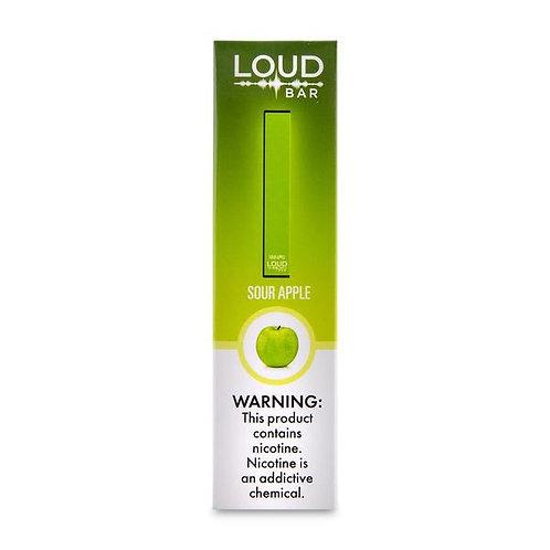 Loud Bar Disposable Vape Device - Sour Apple