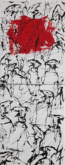 VAIH-20-17. Red rag / Trapo rojo. (Diptych)