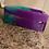 Thumbnail: Ashtray Handmade by ResinDeco - Purple / Teal Tie Dye