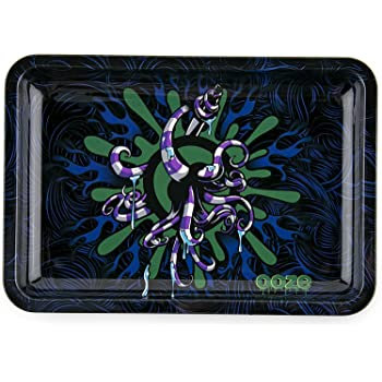 Ooze Rolling Tray - Metal - Octo - Large