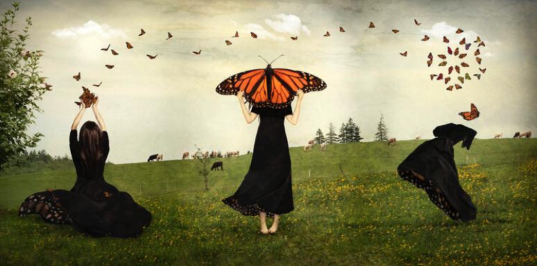 Benevolent World / May Timid Wings Awaken/ A Kaleidoscope