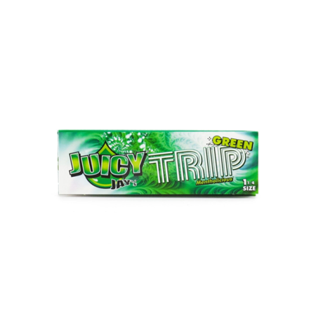 Juicy Jays Trip Green Rolling Papers 1 1/4