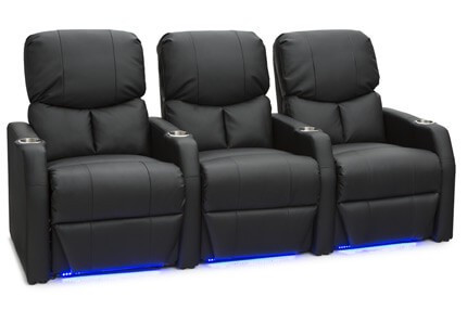Complete your home theater setup with home theater seating