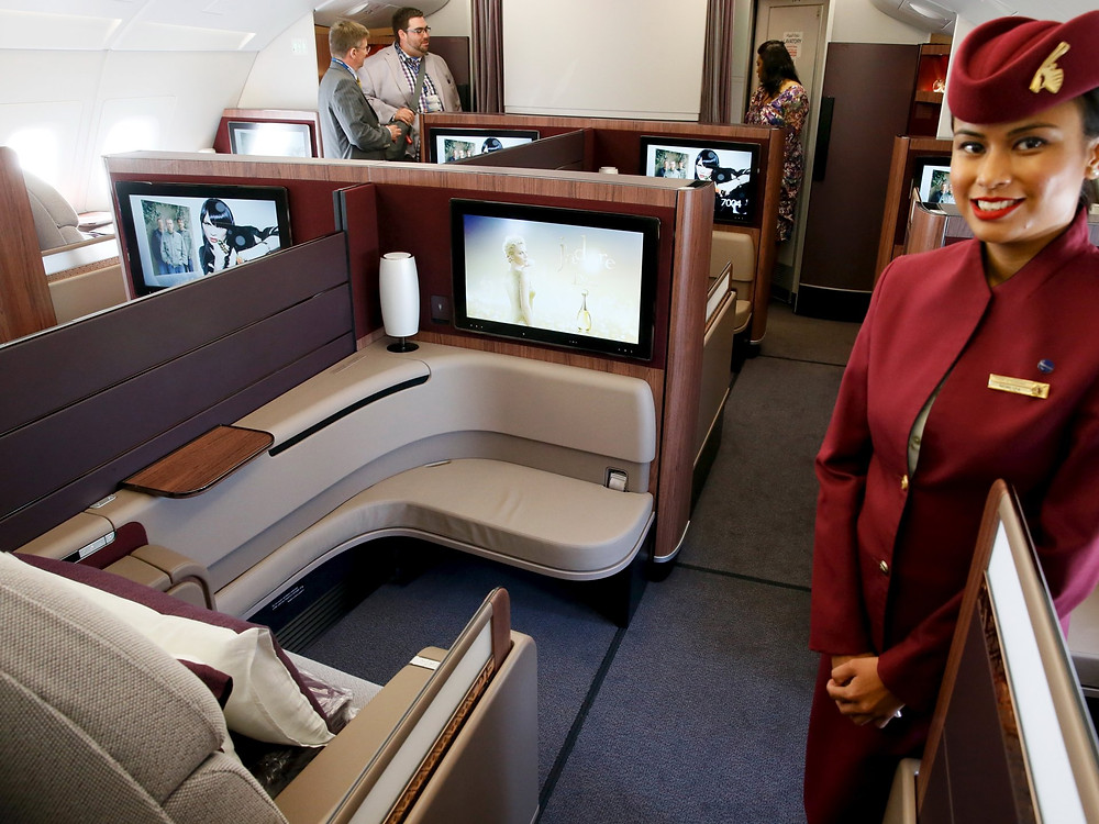 Qatar Airways. Pascal Rossignol/Retuers