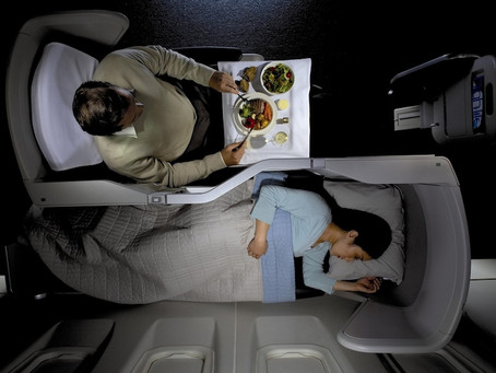 3 Business Benefits of Flying First Class