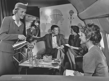 How First Class Flying Has Changed Over The Past 70 Years