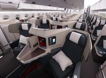 What It's like to Fly Cathay Pacific Business Class