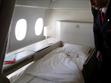 What's The Difference Between Business and First Class?