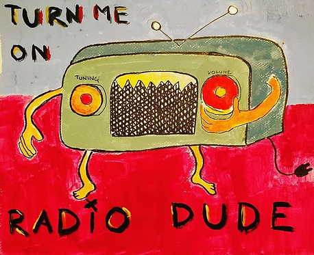 """An ugly face a night every night for seven nights: """"Turn me on radio dude"""""""