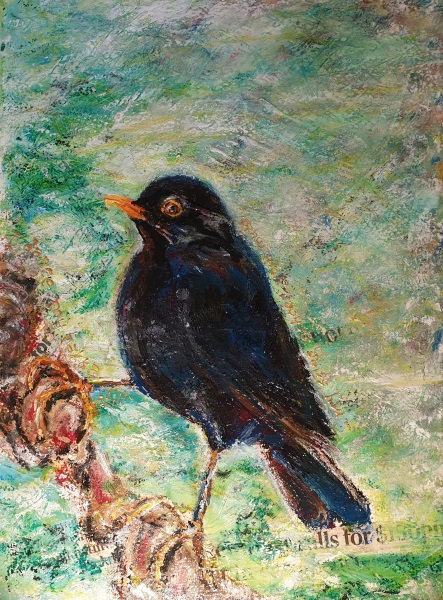 """""""Bird Song.A Conversation II""""Signed, Numbered, Limited Edition Print (run of 25)"""