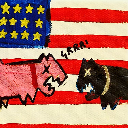 Divided dogs of America