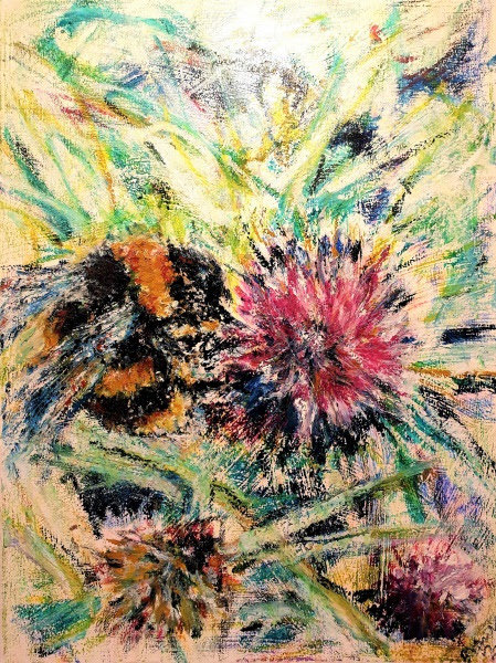 """""""Bumblebee in Revelry"""" Signed, Numbered, Limited Edition Print (run of 25)"""