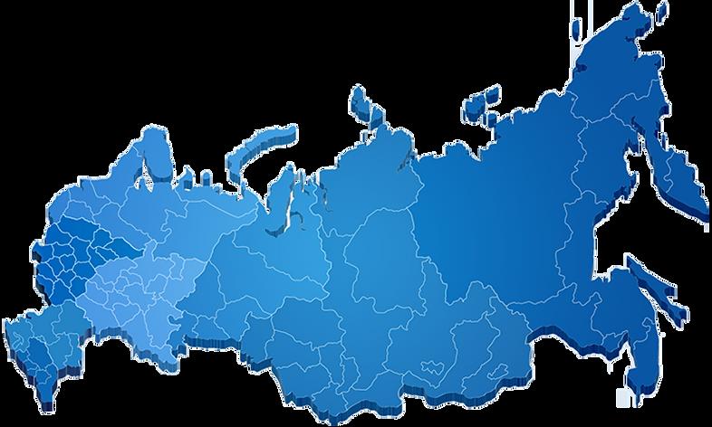 География работы Автобус Групп по России