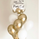 Thumbnail: WHITE + GOLD BALLOON BUNDLE