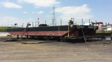 FUEL BARGE - 30,000 GALLONS - 80' X 24' X 6'- COTTRELL CONTRACTING