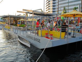 THE LEARNING BARGE - ELIZABETH RIVER PROJECT