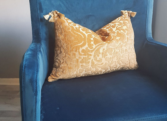 Damask Tassel Cushion