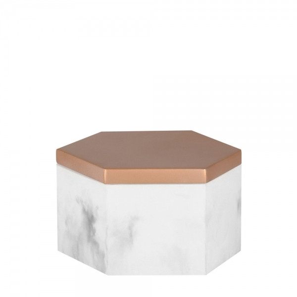 Cult Furniture - Hexagonal Concrete Storage Jar