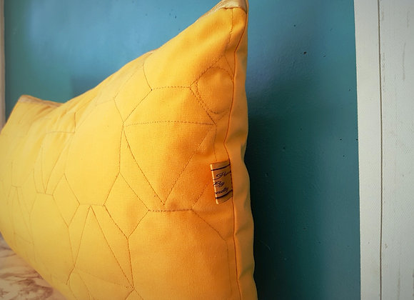 Geo Quilted Lumbar Cover